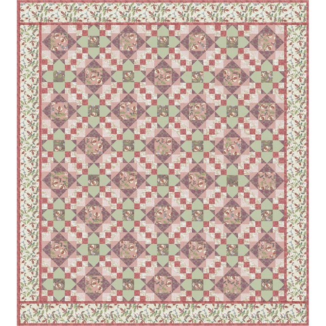 Madame Fleur Quilt Lecien English Site